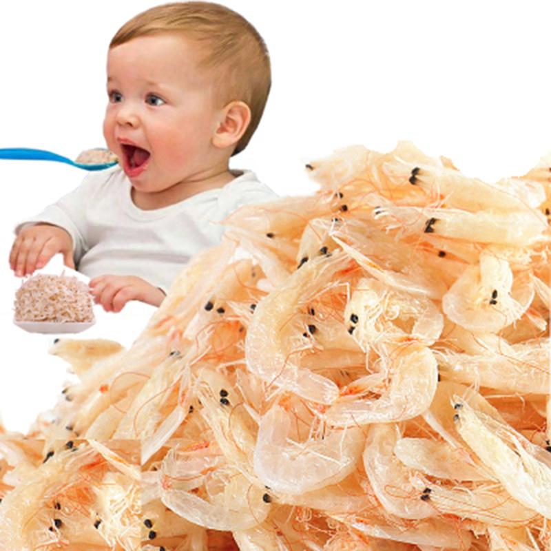 淡干无盐特级宝宝虾皮500g包邮磨粉野生干货儿童即食孕妇婴儿补钙